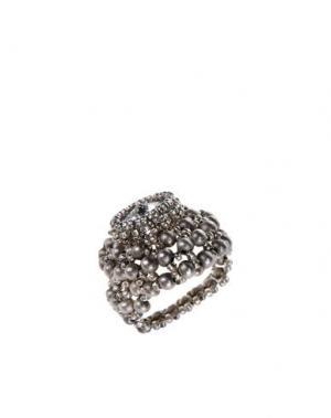 Кольцо MARIA CALDERARA. Цвет: серый
