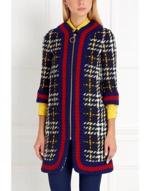 Шерстяное пальто Gucci. Цвет: none