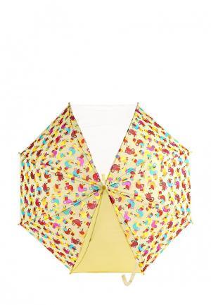 Зонт-трость Vitacci. Цвет: желтый