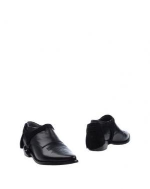 Ботинки MR. WOLF. Цвет: черный