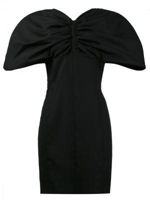 Платье с пышными рукавами Jacquemus. Цвет: чёрный