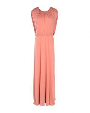 Длинное платье INTROPIA. Цвет: пастельно-розовый