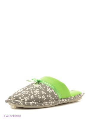 Тапочки De Fonseca. Цвет: зеленый