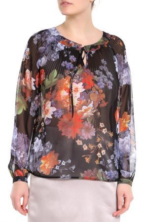 Блузка E.LEVY. Цвет: мультицвет