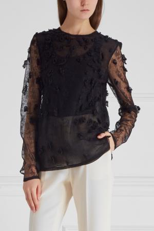 Декорированная блузка Jason Wu. Цвет: черный