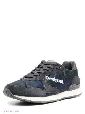 Кроссовки Desigual. Цвет: темно-серый