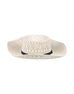 Головной убор VALDEZ PANAMA HATS. Цвет: слоновая кость