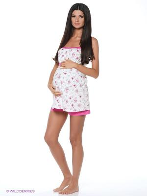 Пижама Nuova Vita. Цвет: розовый, белый