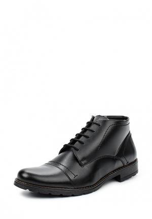 Ботинки классические Bekerandmiller. Цвет: черный