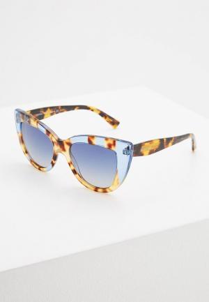 Очки солнцезащитные Valentino. Цвет: разноцветный