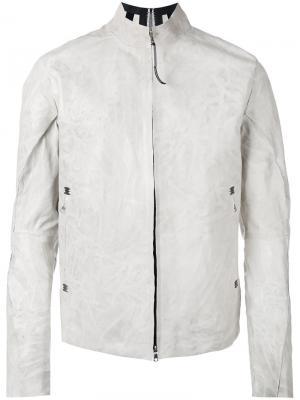 Куртка с высокой горловиной Isaac Sellam Experience. Цвет: белый