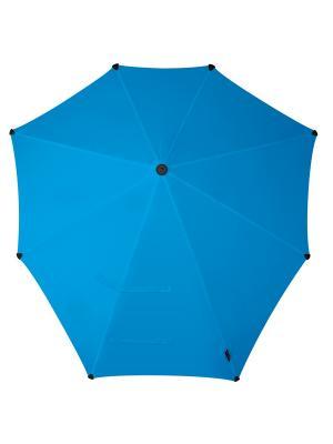 Зонт-трость senz Original bright blue. Цвет: голубой