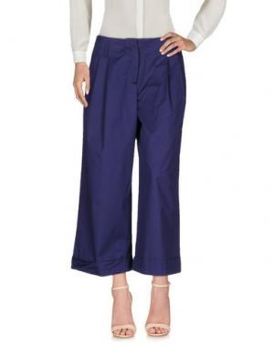 Повседневные брюки .TESSA. Цвет: темно-фиолетовый