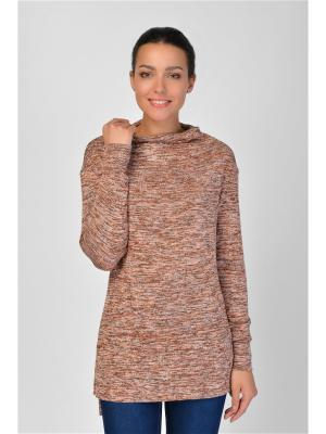 Туника Maria Velada. Цвет: серый, коричневый