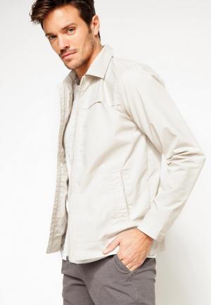 Куртка DeFacto. Цвет: бежевый