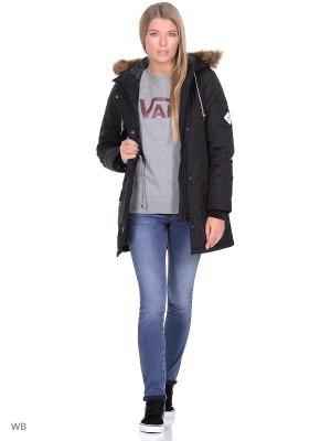 Куртка  W FUEGO PARKA MTE VANS. Цвет: черный