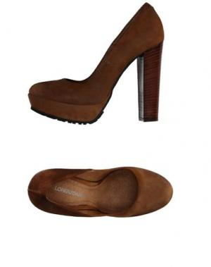 Туфли LORENZO MARI. Цвет: коричневый