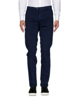 Повседневные брюки TAKESHY KUROSAWA. Цвет: темно-синий