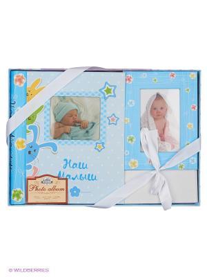 Фотокнига Our baby VELD-CO. Цвет: голубой