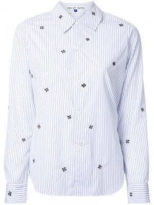 Рубашка с узором Jupe By Jackie. Цвет: белый