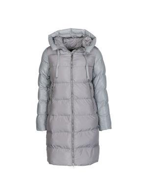 Пальто Snow Guard. Цвет: серый