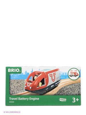 Вагон с машинистом  2 элемента BRIO. Цвет: красный