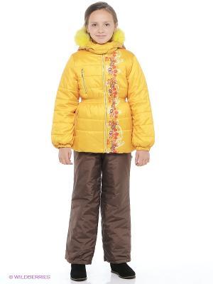 Комплект одежды Катарина Батик. Цвет: желтый