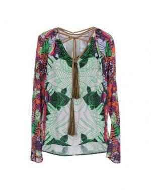 Блузка CUSTO BARCELONA. Цвет: зеленый