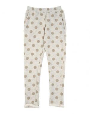 Повседневные брюки CAFFÉ D'ORZO. Цвет: светло-серый