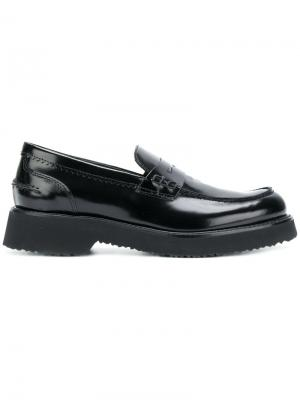 Penny loafers Anna F.. Цвет: чёрный