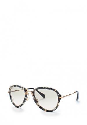 Очки солнцезащитные Miu. Цвет: разноцветный