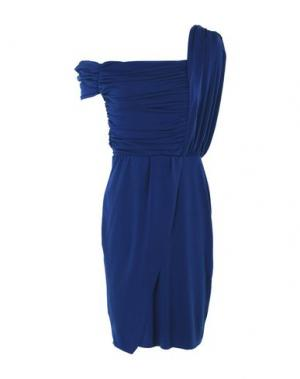 Короткое платье LUNATIC. Цвет: синий