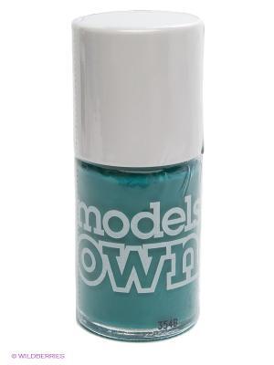 Лак для ногтей, Cream Top Turquoise  Models Own. Цвет: зеленый