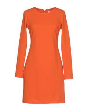 Короткое платье DRY LAKE.. Цвет: оранжевый