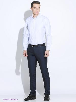 Рубашка John Jeniford. Цвет: светло-голубой