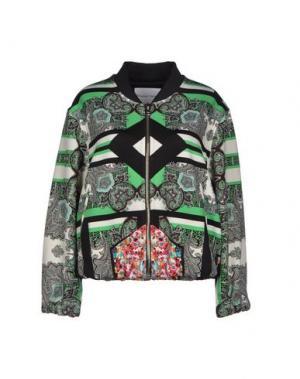 Куртка THE TEXTILE REBELS. Цвет: зеленый