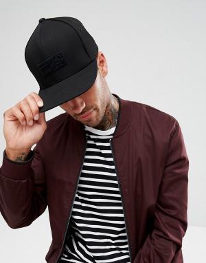 Mitchell & Ness Замшевая кепка. Цвет: черный