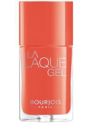 Гель-лак для ногтей LA LAQUE GEL, Тон 03 Bourjois. Цвет: оранжевый