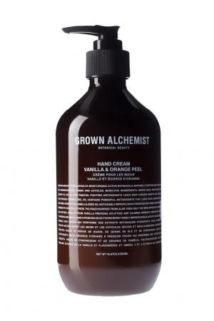 Крем для рук Ваниль и апельсин, 500 ml Grown Alchemist. Цвет: без цвета