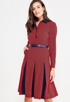 Платье Katya Erokhina. Цвет: красный