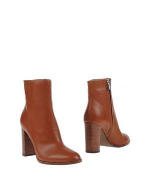 Полусапоги и высокие ботинки BIANCA DI. Цвет: коричневый