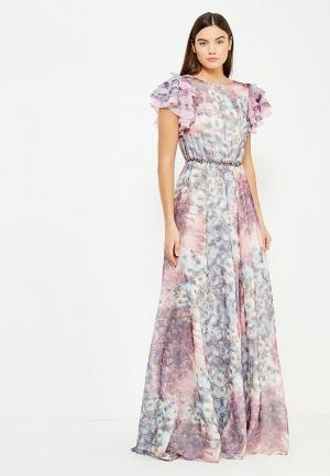 Платье To be Bride. Цвет: фиолетовый