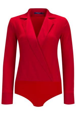Блуза-боди Audrey Right. Цвет: красный