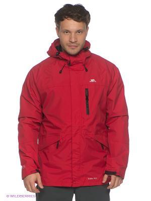 Куртка Trespass. Цвет: темно-красный