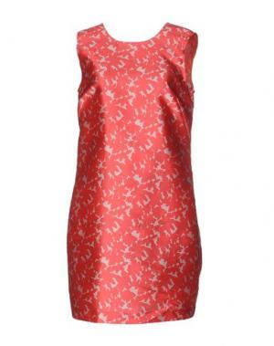 Короткое платье GOTHA. Цвет: красный