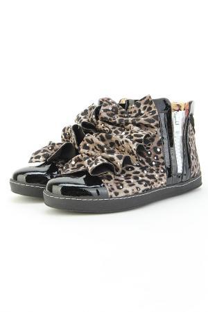 Ботинки Bouton. Цвет: серый, черный