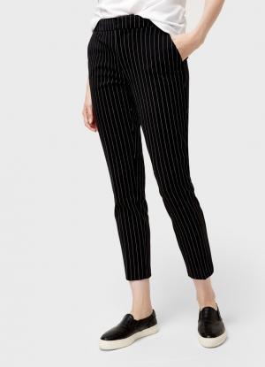 Укороченные брюки OSTIN. Цвет: стальной