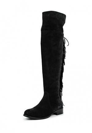 Ботфорты Wojas. Цвет: черный