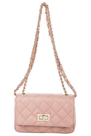Клатч FLORENCE BAGS. Цвет: розовый