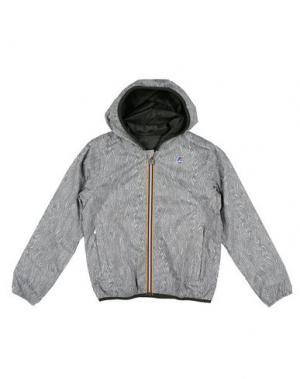 Куртка K-WAY. Цвет: серый